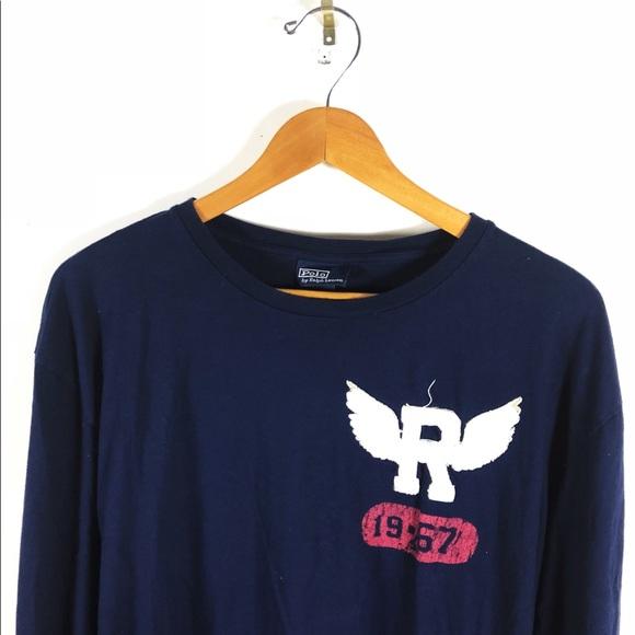 e32c996285 Polo Ralph Lauren T Shirt P wing Long Sleeve Mens
